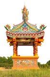 寺庙,一条小龙 库存图片