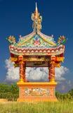 寺庙,一条小龙 免版税库存图片