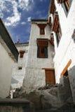 寺庙,修道院,印度,佛教,建筑学,大厦,旅行,山,拉达克,宗教, 免版税库存图片