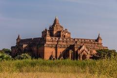 寺庙,在缅甸(Burmar)的Bagan 免版税库存图片