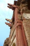 寺庙破坏柱子 图库摄影