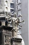 寺庙01的雕塑 图库摄影