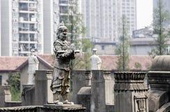 寺庙02的雕塑 免版税库存照片