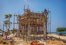 寺庙建筑在泰国 免版税库存照片