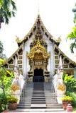 寺庙建筑学 免版税图库摄影