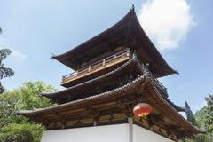 寺庙建筑学 库存照片