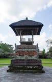 寺庙建筑, Pura塔曼Ayun 库存照片