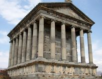 寺庙Garni,亚美尼亚 库存图片