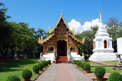 寺庙Phra唱歌 库存图片