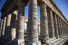 寺庙Segesta 5 免版税库存照片