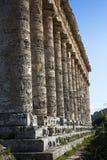 寺庙Segesta 3 免版税库存照片