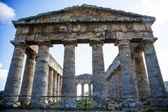 寺庙Segesta 2 免版税库存照片