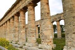 寺庙Selinunte -细节的谷-意大利14 图库摄影