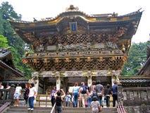 寺庙toshogu 免版税图库摄影