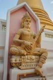 寺庙Wat Bowonniwet Vihara,曼谷 图库摄影