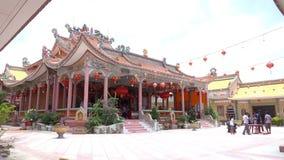 寺庙Wat Mungkorn buppharam汉语在泰国 股票录像