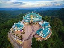 寺庙Wat pa phukon Udonthani在泰国 免版税图库摄影