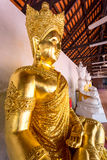 寺庙Wat Phra那Haripunchai在南奔 库存照片