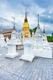 寺庙Wat Suan Dok在清迈;泰国 库存图片