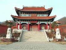 寺庙zhengjue 免版税库存照片