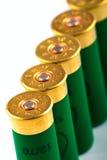 寻找猎枪的弹药筒 免版税库存图片