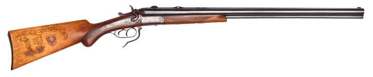 寻找老步枪 免版税图库摄影