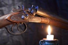 寻找老猎枪 图库摄影