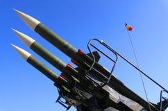 导弹发射装置 库存图片