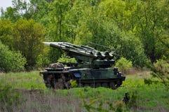 导弹坦克 免版税图库摄影