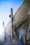 导弹平面战争翼 免版税库存照片