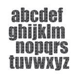 导线字体 免版税图库摄影