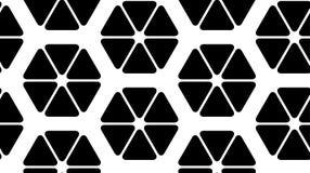 导航三角的一个无缝的样式的例证 免版税库存图片