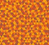 导航三角背景,在棕色颜色的无缝的样式 免版税库存照片