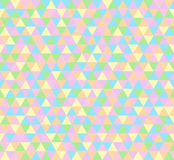 导航三角背景,在淡色的无缝的样式 免版税库存图片