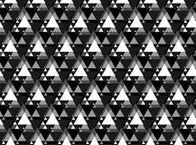 导航亮度色标三角无缝的样式,背景 库存例证