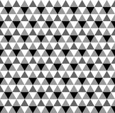 导航亮度色标三角无缝的样式,背景 免版税图库摄影
