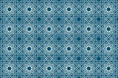 导航伊斯兰教的无缝的样式的例证与阿拉伯装饰品的 库存照片