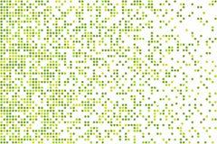 导航半色调图象的背景,对白色背景的方形的微粒飞行作用 在现代样式的几何纹理 库存图片
