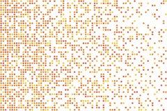 导航半色调图象的背景,方形的微粒飞行作用 免版税图库摄影