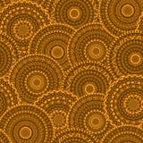 导航圆的抽象种族坛场的无缝的样式 库存照片