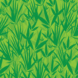 导航新鲜的绿色亚洲竹和服无缝的样式背景 向量例证