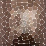 导航棕色,桃红色和灰色颜色抽象五颜六色的马赛克背景  免版税库存照片