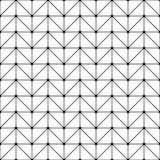 导航现代无缝的几何样式小点,黑白摘要 库存照片