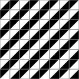 导航现代无缝的几何样式线,黑白摘要 免版税库存照片