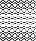导航现代无缝的神圣的几何样式,黑白抽象几何背景 皇族释放例证