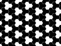导航现代无缝的神圣的几何样式,黑白摘要 免版税库存照片
