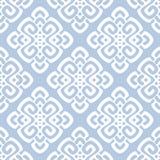 导航白色和蓝色锦缎样式的例证 免版税图库摄影