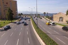 导航的城市道路 库存照片