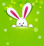 传染媒介复活节兔子 免版税库存图片