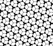 导航简单现代无缝的几何的样式,黑白摘要 免版税库存照片